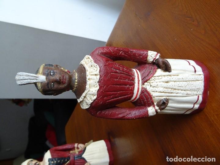 Arte: Gigantes de Pamplona, 8 figuras macizas, 20 cm - Foto 8 - 162931642