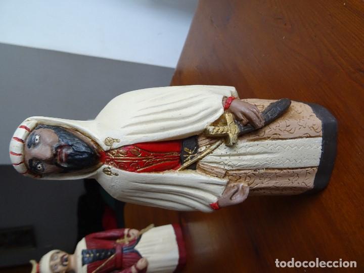 Arte: Gigantes de Pamplona, 8 figuras macizas, 20 cm - Foto 9 - 162931642