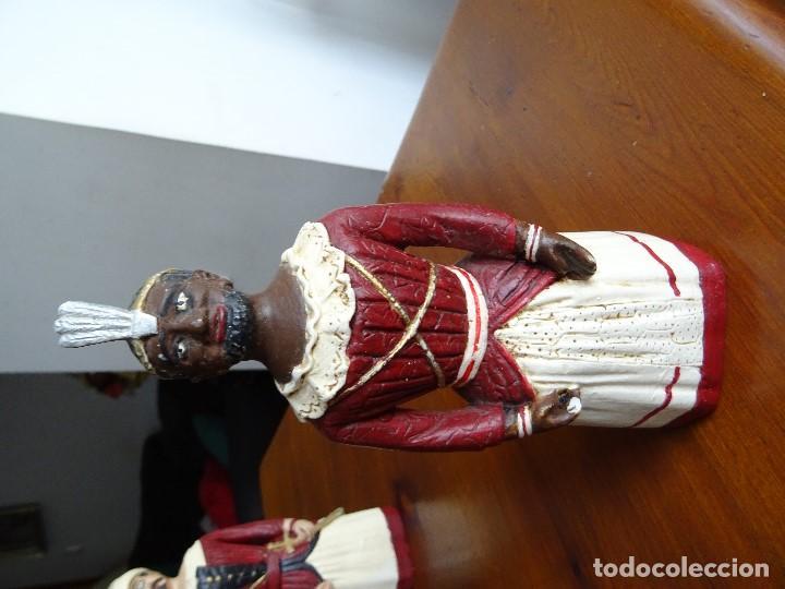 Arte: Gigantes de Pamplona, 8 figuras macizas, 20 cm - Foto 10 - 162931642