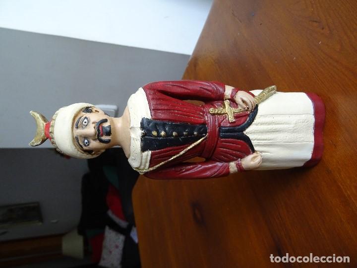 Arte: Gigantes de Pamplona, 8 figuras macizas, 20 cm - Foto 11 - 162931642