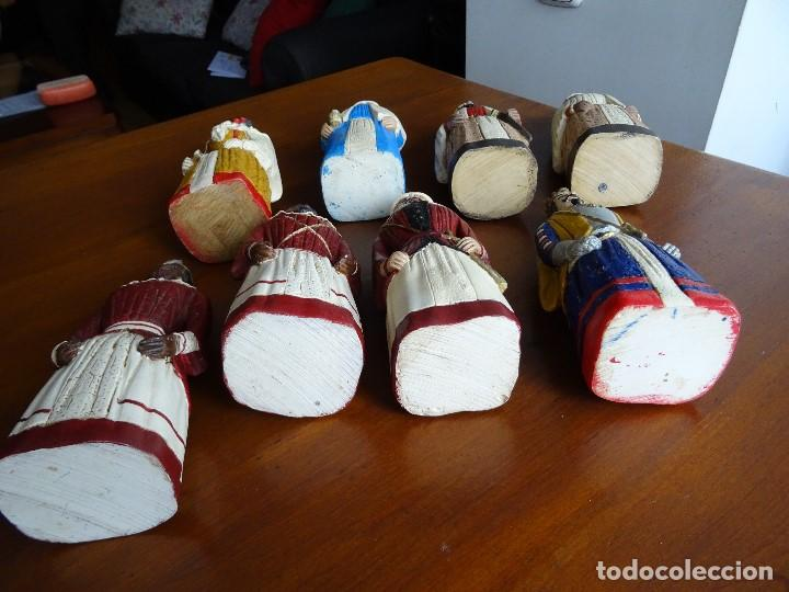Arte: Gigantes de Pamplona, 8 figuras macizas, 20 cm - Foto 13 - 162931642