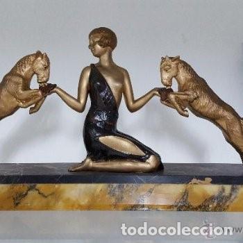 Arte: Escultura Art Decó. - Foto 2 - 165669854