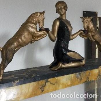 Arte: Escultura Art Decó. - Foto 3 - 165669854