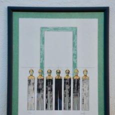 Arte: OCASION , JOSEP BOFILL , BONITA Y ORIGINAL FIRMADA Y NUMERADA A LAPIZ . DIFICIL DE ENCONTRAR. Lote 166637590