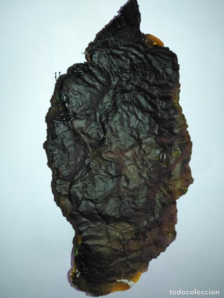 Arte: ARTE MODERNO escultura relieve titulo ABRAZO siglo xxi firmado gron 20X 10,5 cm TECNICA PLASTICA - Foto 8 - 168365828