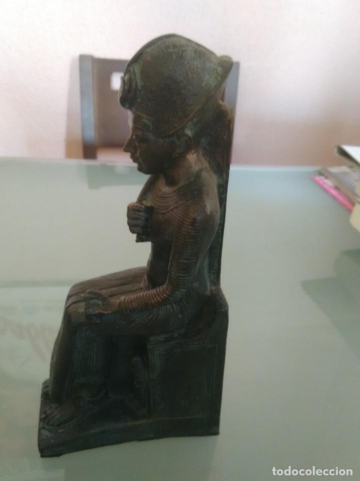 Arte: RAMSES II, Estatua sedente. - Foto 2 - 176738528