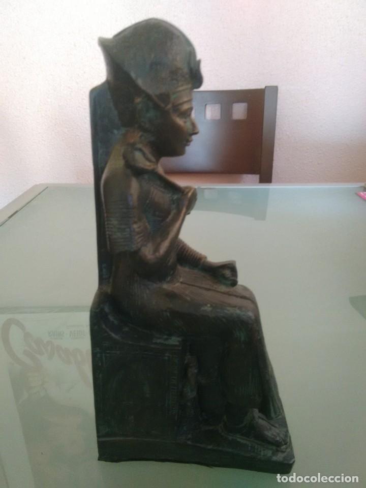 Arte: RAMSES II, Estatua sedente. - Foto 3 - 176738528
