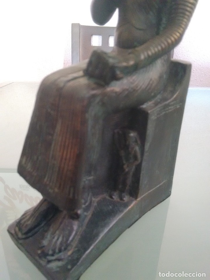 Arte: RAMSES II, Estatua sedente. - Foto 5 - 176738528