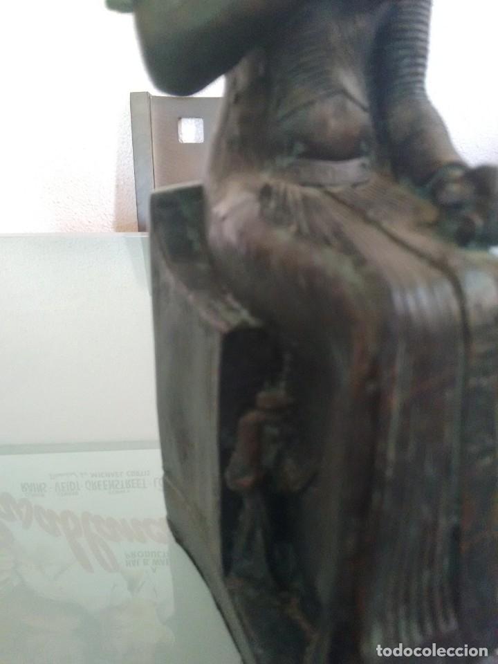 Arte: RAMSES II, Estatua sedente. - Foto 6 - 176738528