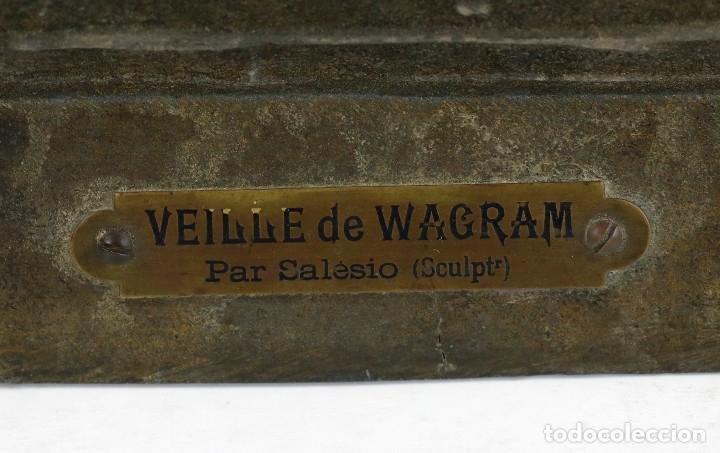 Arte: ESCULTURA DE NAPOLEÓN DELANTE UNA COCINA. VEILLE DE WAGAM, PAR SALESIO. - Foto 4 - 178656761