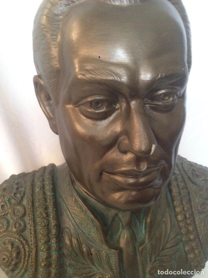 Arte: Busto de escayola de Curro romero - Foto 2 - 178663123