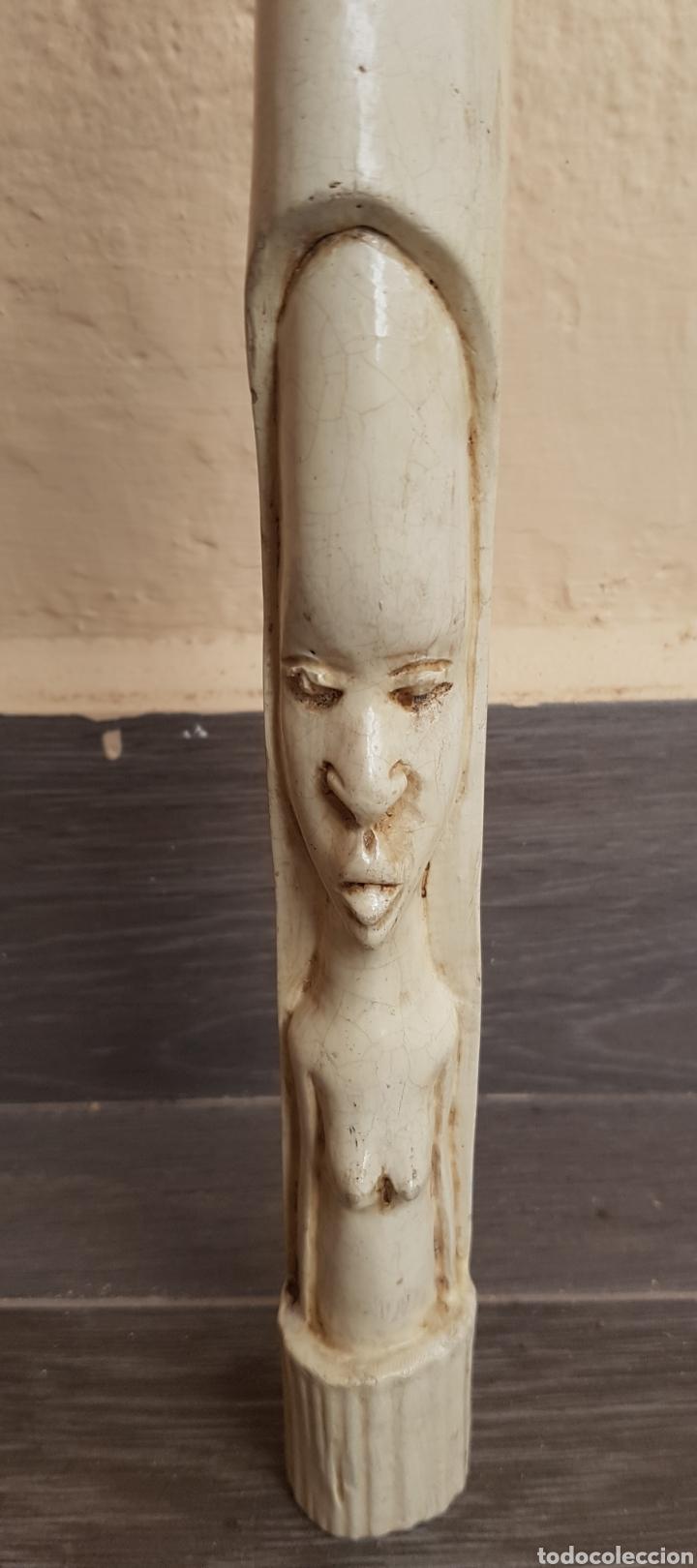 TALLA SOBRE MARFIL O MALFILINA (Arte - Escultura - Otros Materiales)
