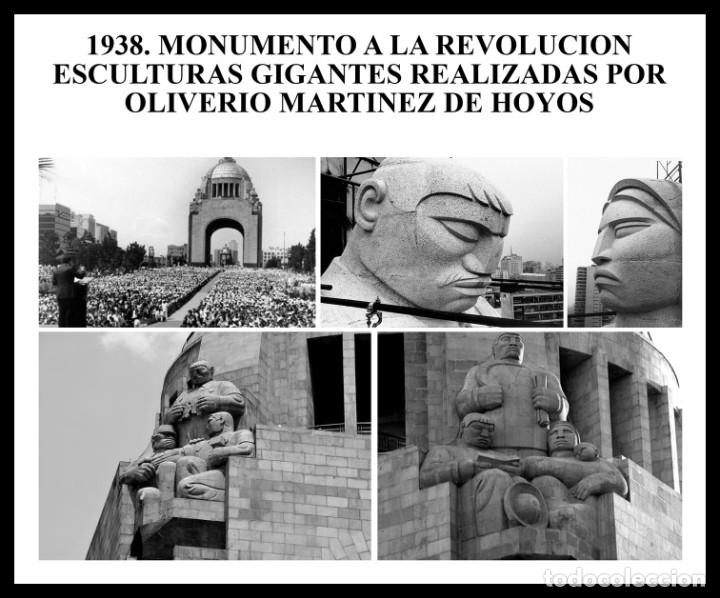 Arte: GRAN ESCULTURA ART DECO DE PLATA-OLIVERIO MARTÍNEZ DE HOYOS 1933 MÉXICO-EL ESCULTOR DE LA REVOLUCIÓN - Foto 12 - 181619501