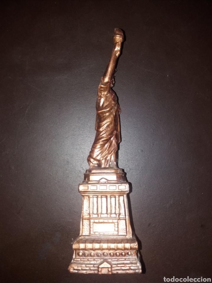 Arte: Estatua de la libertad,antigua. - Foto 2 - 181870312