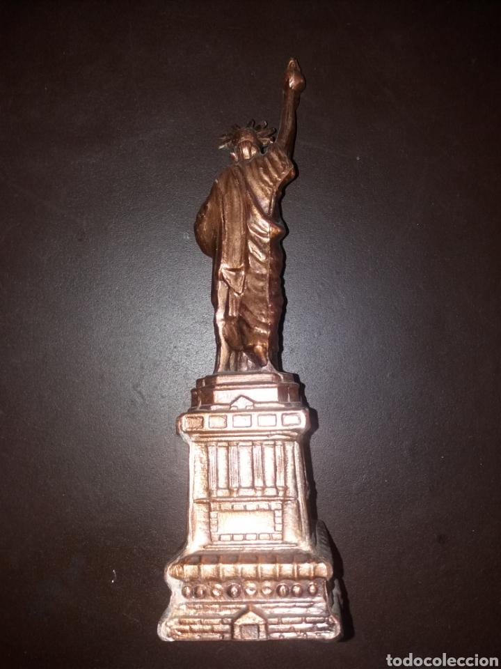 Arte: Estatua de la libertad,antigua. - Foto 3 - 181870312
