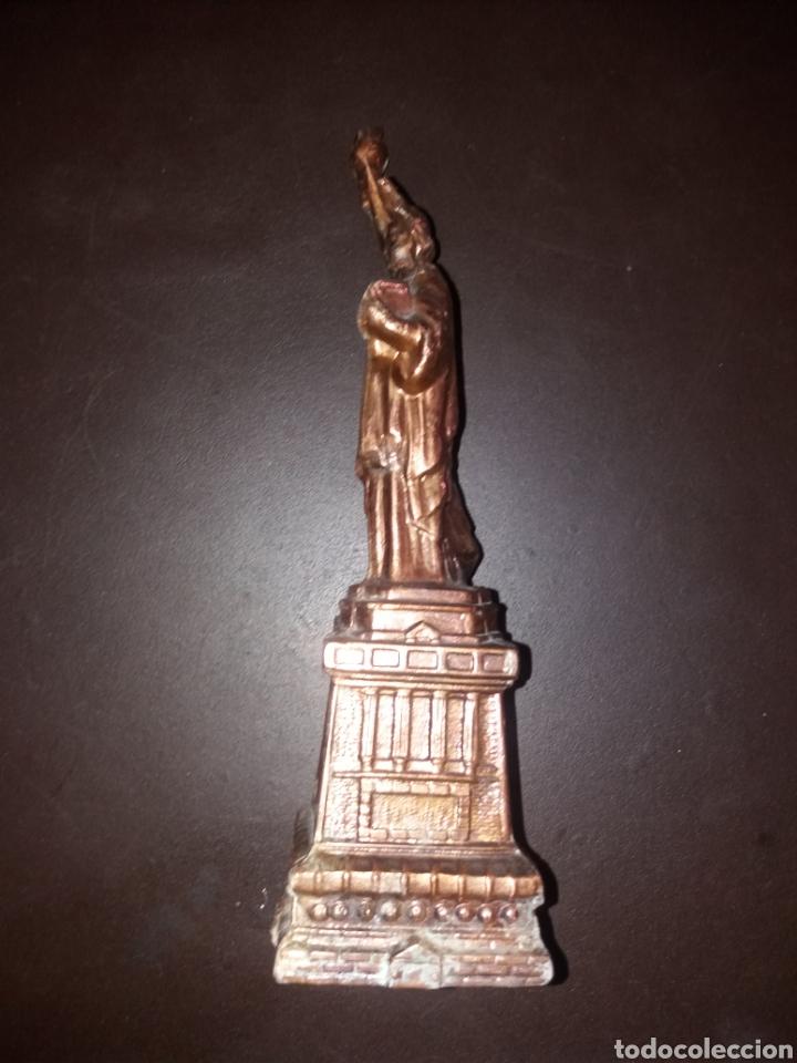Arte: Estatua de la libertad,antigua. - Foto 4 - 181870312