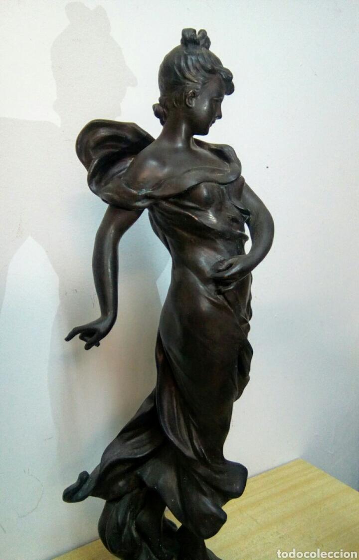 Arte: Escultura Art Nouveau , Firmada Tairo, París ( Papillons) - Foto 5 - 182160430
