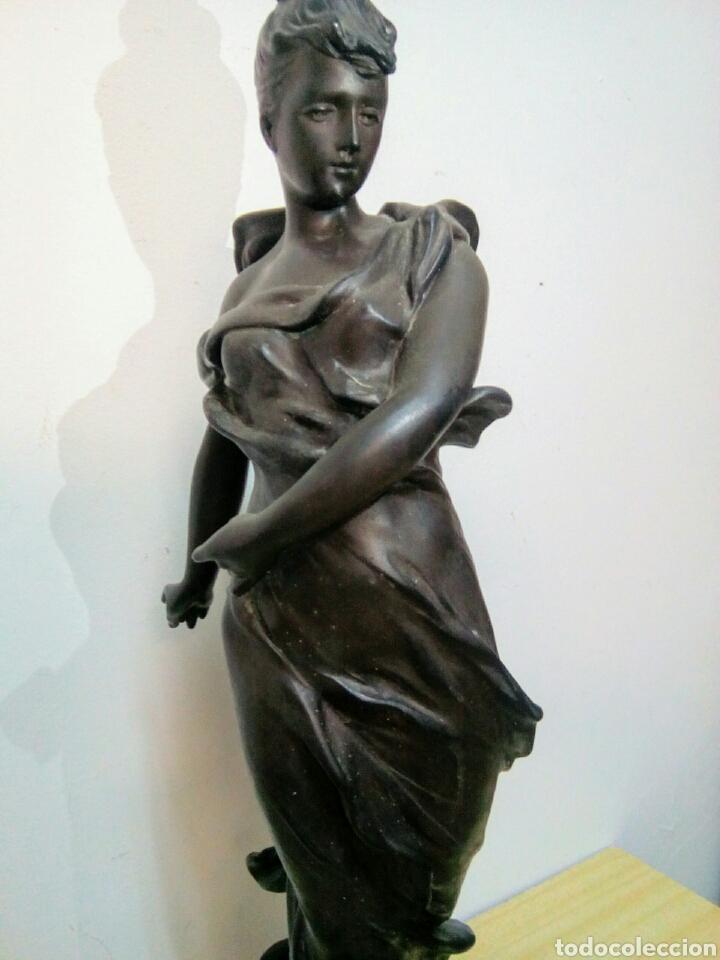 Arte: Escultura Art Nouveau , Firmada Tairo, París ( Papillons) - Foto 6 - 182160430