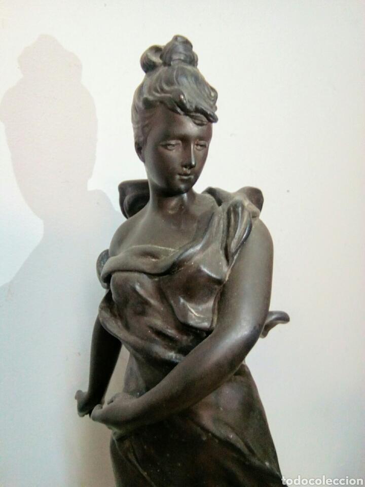 Arte: Escultura Art Nouveau , Firmada Tairo, París ( Papillons) - Foto 9 - 182160430