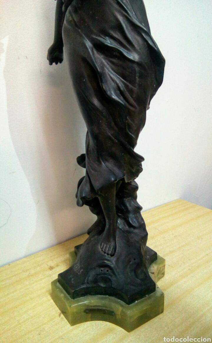 Arte: Escultura Art Nouveau , Firmada Tairo, París ( Papillons) - Foto 20 - 182160430