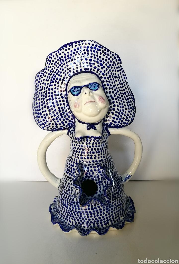 PACO CORTIJO (1936 -1996) CERÁMICA ORIGINAL ESCULTURA FIRMADA PERIODO 70S/80S // FRANCISCO SEVILLA (Arte - Escultura - Otros Materiales)