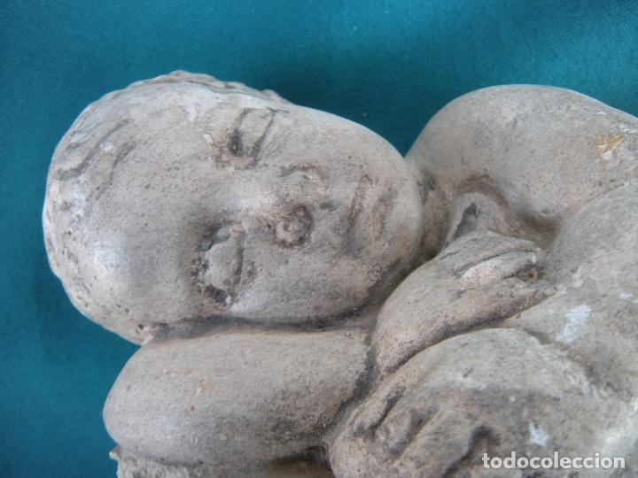 Arte: NIÑO DURMIENDO, ATRIBUIDO A GONZÁLEZ MORENO, MURCIA - Foto 6 - 182639292