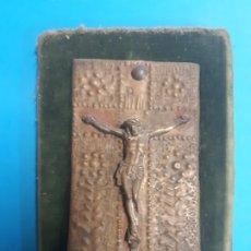 Arte: CRISTO. EN MADERA Y METAL. OBRA DE FRANCESC GASSO. UNA OBRA DE ARTE EN TU CASA. Lote 182864026
