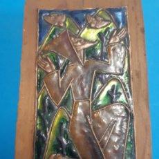 Arte: FRAILE. EN MADERA Y METAL. OBRA DE FRANCESC GASSO. UNA OBRA DE ARTE EN TU CASA. Lote 182864215