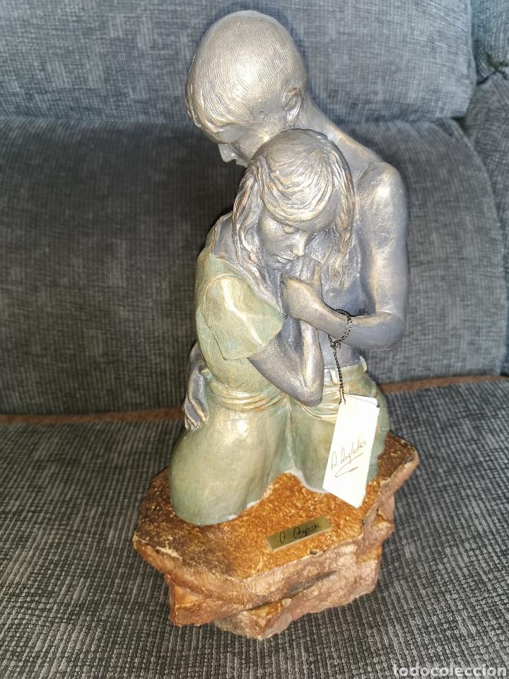 Arte: Escultura original Angeles Anglada. - Foto 2 - 183791297