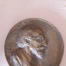 Arte: PLAFÓN, RELIEVE DE ESCAYOLA. AL EMINENTE DOCTOR IGNACIO BARRAQUER. HECHO M. BENLLIURE 1941.. Lote 183891013