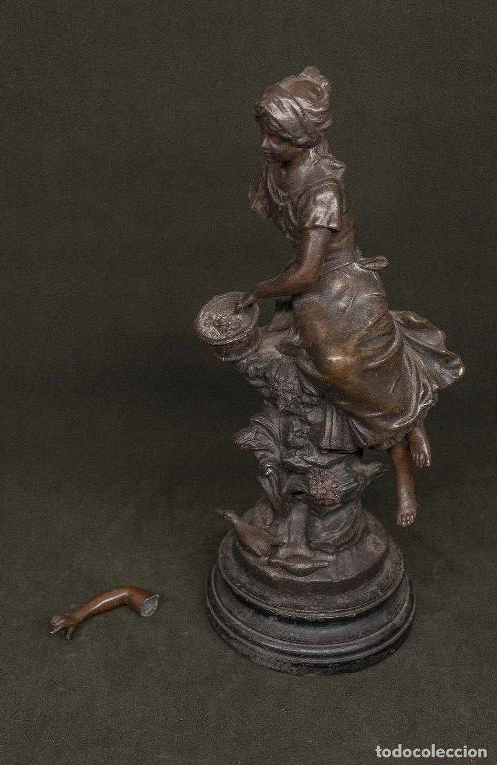 Arte: Calamina firmada Auguste Moreau s. XIX - Foto 2 - 184661852