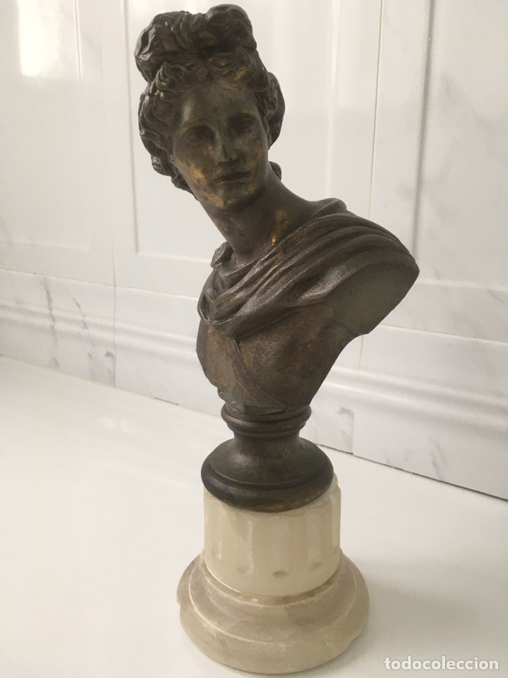 Arte: Busto de Apolo del Belvedere - Foto 5 - 188728963