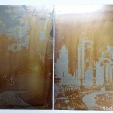 Arte: HANS FIGURA, 2 PLANCHAS ORIGINALES PARA GRABADOS A LA AGUATINTA, CHICAGO, 1930. Lote 191351975