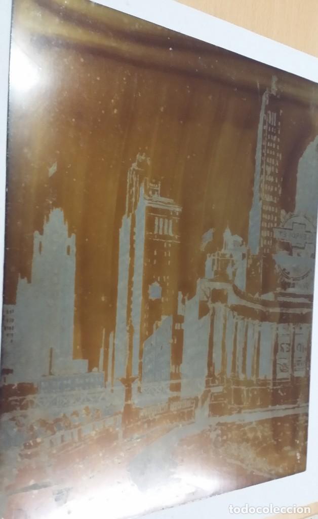 Arte: Hans FIGURA, 2 planchas originales para grabados a la aguatinta, CHICAGO, 1930 - Foto 3 - 191351975