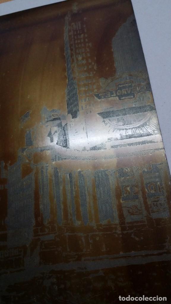 Arte: Hans FIGURA, 2 planchas originales para grabados a la aguatinta, CHICAGO, 1930 - Foto 4 - 191351975