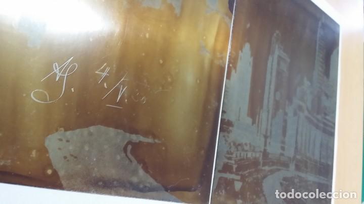 Arte: Hans FIGURA, 2 planchas originales para grabados a la aguatinta, CHICAGO, 1930 - Foto 11 - 191351975