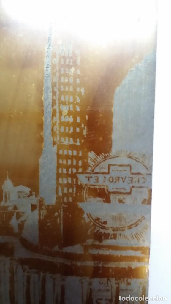 Arte: Hans FIGURA, 2 planchas originales para grabados a la aguatinta, CHICAGO, 1930 - Foto 5 - 191351975