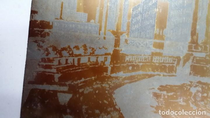 Arte: Hans FIGURA, 2 planchas originales para grabados a la aguatinta, CHICAGO, 1930 - Foto 8 - 191351975