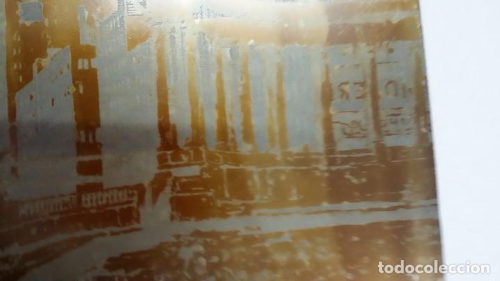 Arte: Hans FIGURA, 2 planchas originales para grabados a la aguatinta, CHICAGO, 1930 - Foto 9 - 191351975