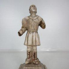 Arte: ESCULTURA - FIGURA SANTO-SOLDADO - RENACIMIENTO - ÉPOCA CARLOS V (1519-1558) - TARRAGONA - S. XVI. Lote 192152600