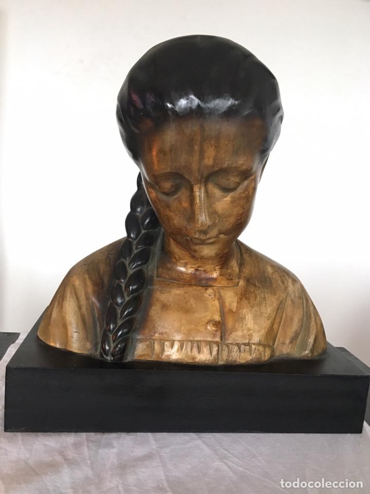 BUSTO DE MUJER (Arte - Escultura - Otros Materiales)