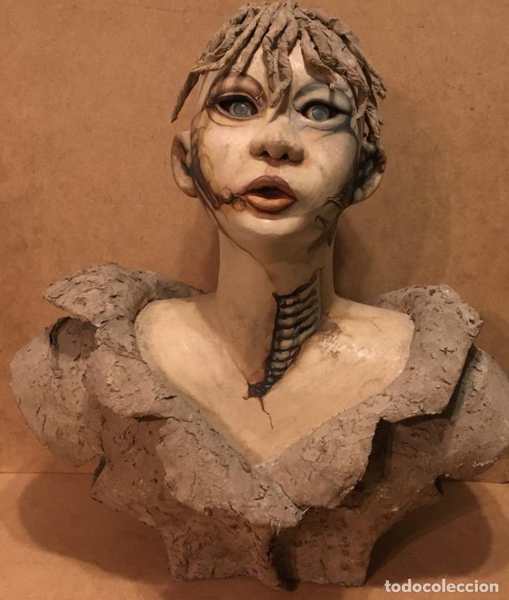 Arte: Escultura en cartón piedra - Foto 4 - 194364096