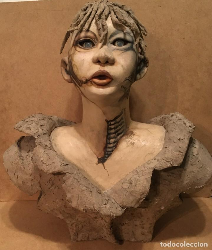 Arte: Escultura en cartón piedra - Foto 5 - 194364096