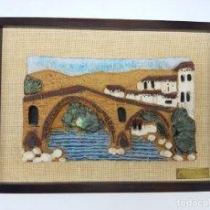 Arte: BAJORELIEVE EN CERAMICA GRES DE TONI CAMA CAROL ( AÑOS 90 ). Lote 194700377