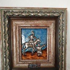 Arte: HOMENAJE A: EL QUIJOTE ( DON QUIJOTE Y SANCHO ). Lote 195032071
