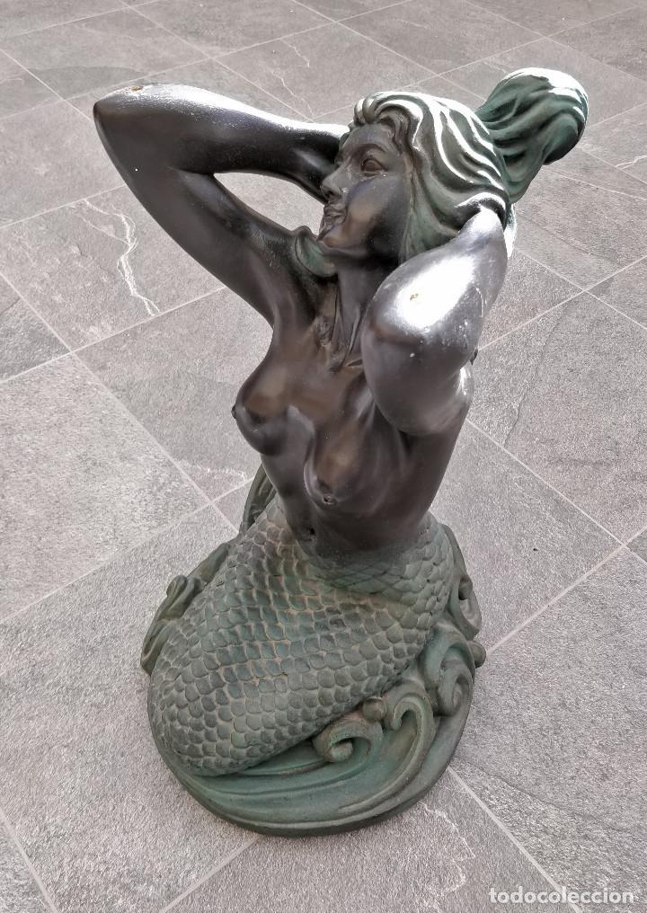 Arte: Antigua estatua de Sirena - Foto 2 - 195332635