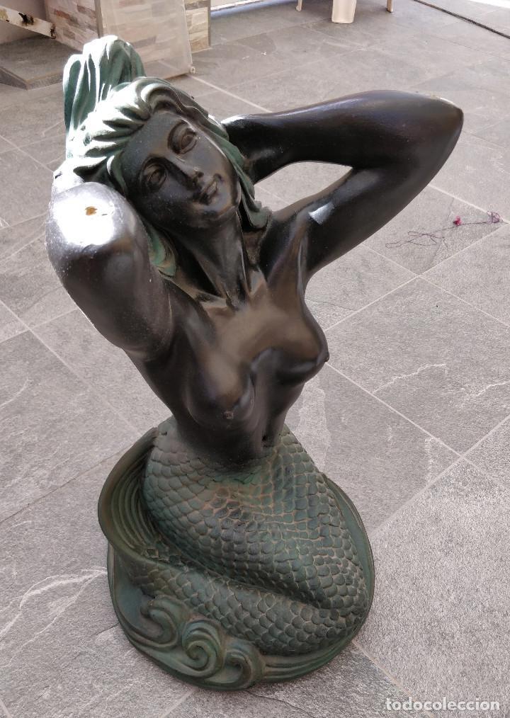 Arte: Antigua estatua de Sirena - Foto 3 - 195332635