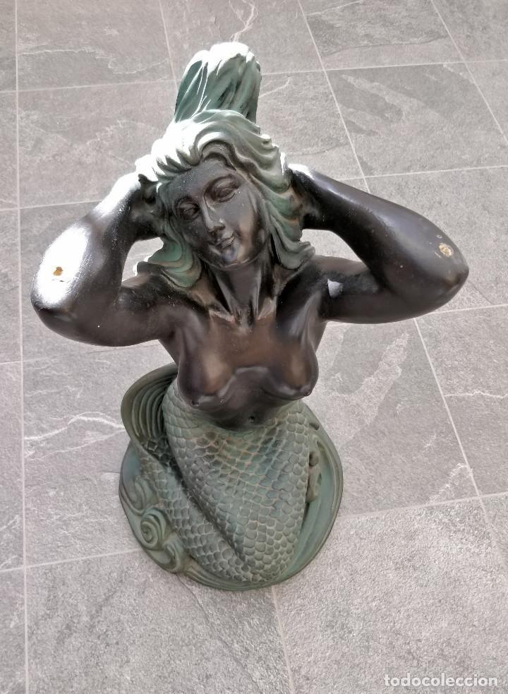 Arte: Antigua estatua de Sirena - Foto 4 - 195332635