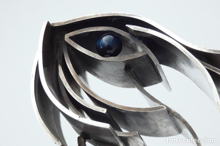 Arte: Joya - Escultura realizada en plata pura por Pablo Fuster , 1970s + libro Relojeria Alemana - Foto 8 - 195510308