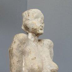 Arte: INTERESANTE ESCULTURA DESNUDO FEMENINO, SIN FIRMA.. Lote 195542980
